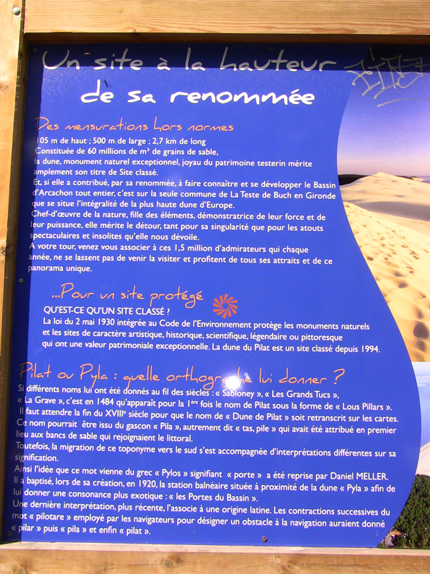Dune du Pyla - information