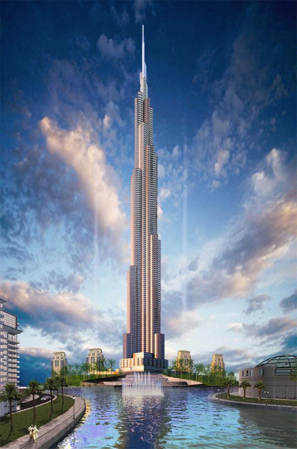 The highest Burj Dubai