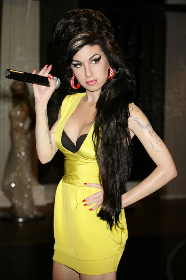 Amy Winehouse at Madam Tussaud in London