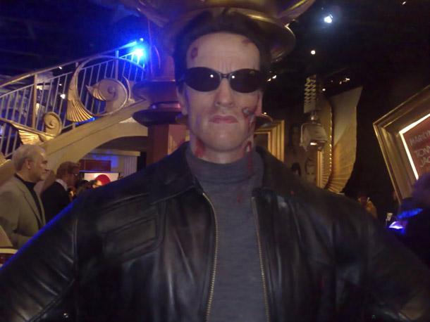 Arnold Schwarzenegger at Madam Tussaud in London
