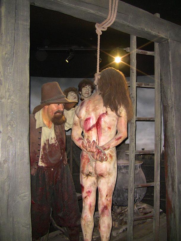 Chamber of Horrors at Madam Tussaud in London