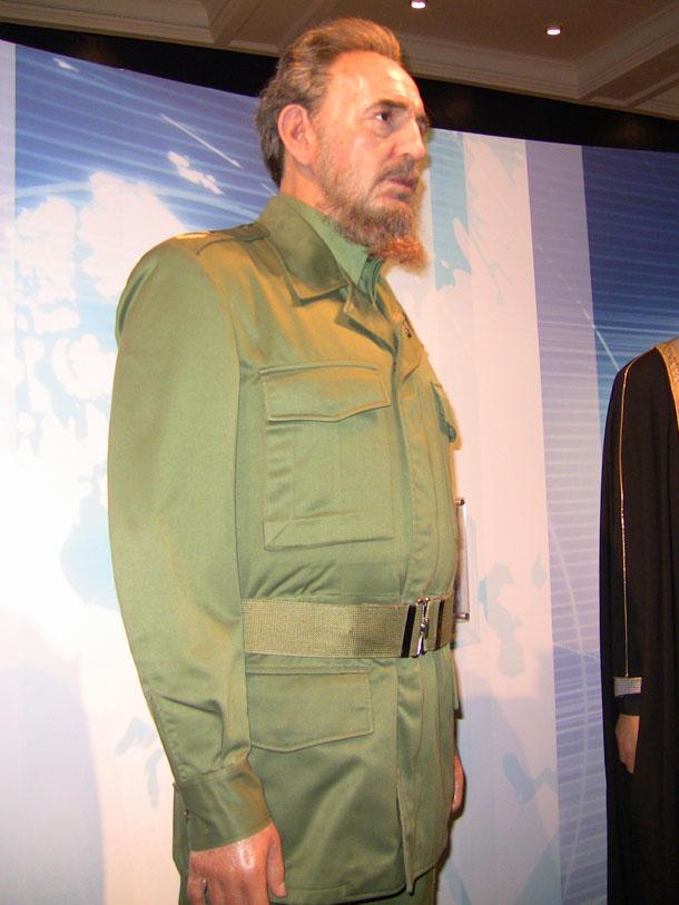 Fidel Castro at Madam Tussaud in London
