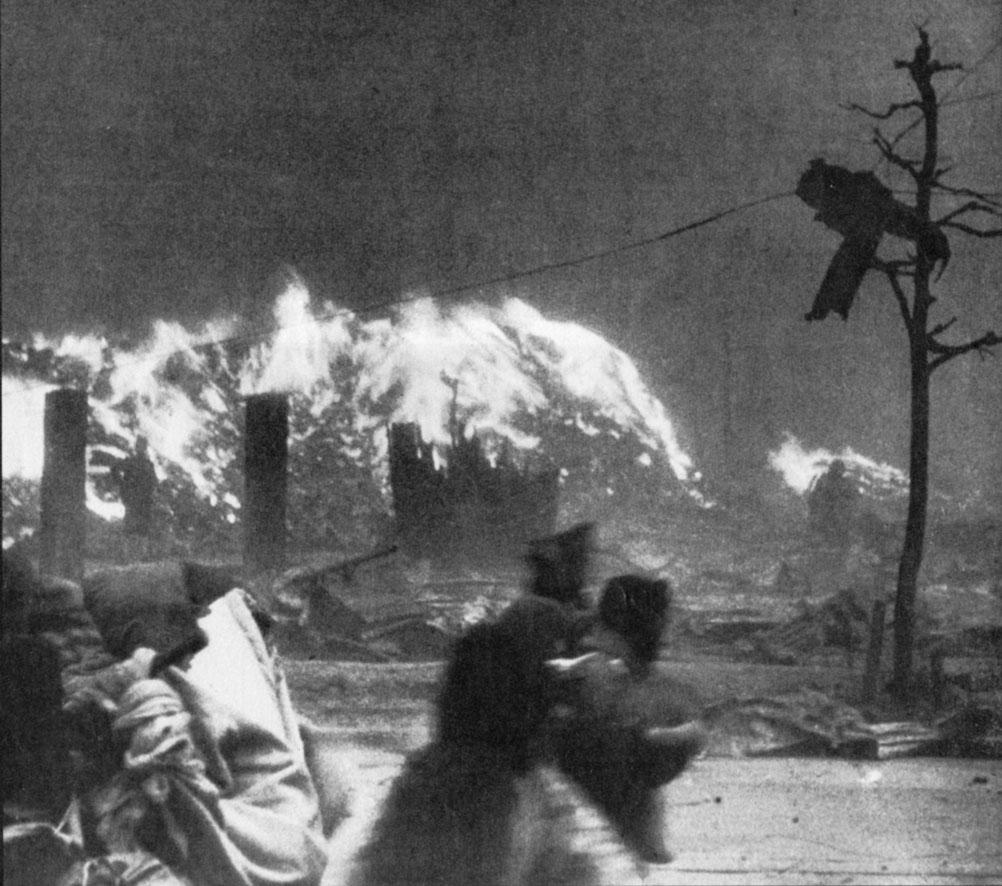 Firestorm in Hiroshima
