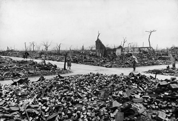 Hiroshima destroyed