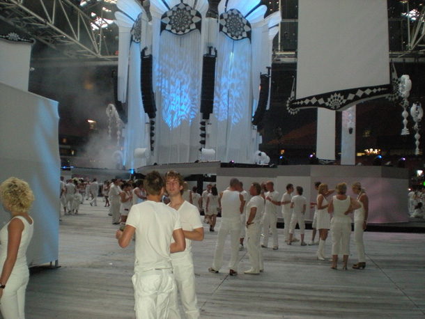 Inside Amsterdam Arena Sensation White 2009