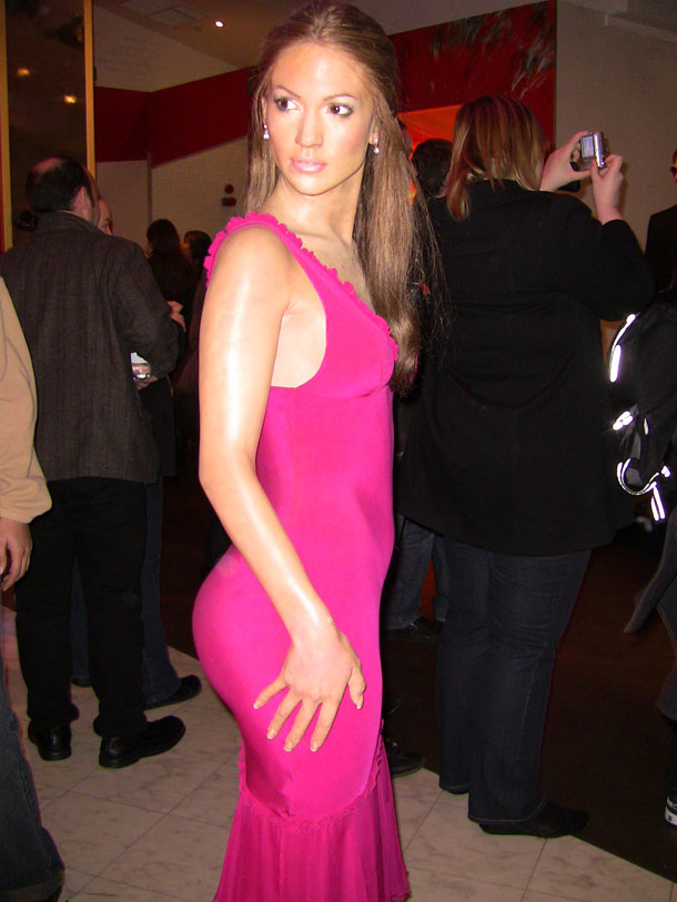 Jennifer Lopez at Madam Tussaud in London