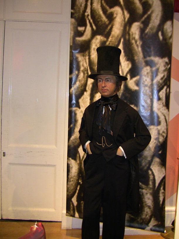 Wax Figure at Madam Tussaud in London