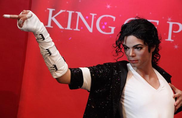 Michael Jackson at Madam Tussaud in London