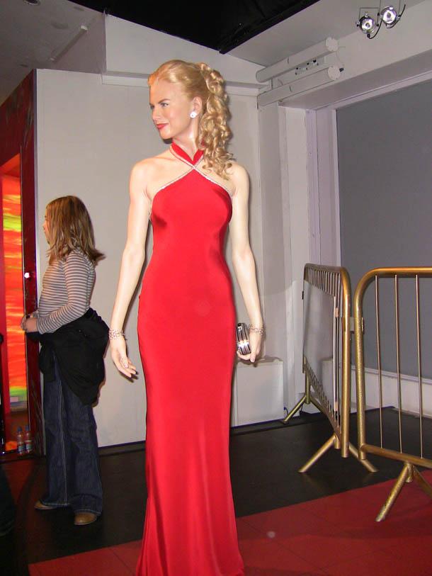 Nicole Kidman at Madam Tussaud in London
