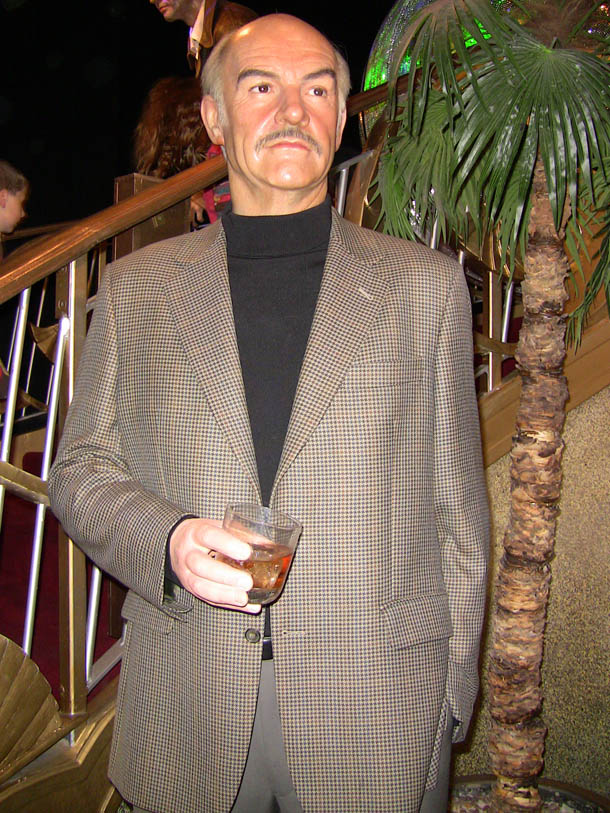 Sean Connery at Madam Tussaud in London
