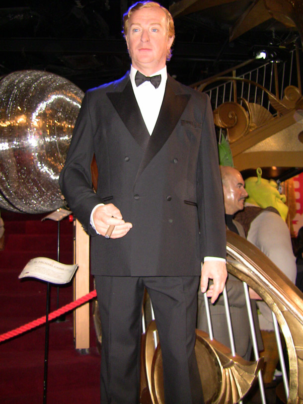 Sir Michael Caine at Madam Tussaud in London