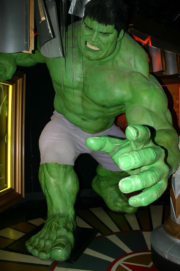 The Hulk at Madam Tussaud in London