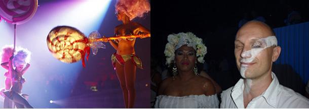 White Sensation 2009 Outfits