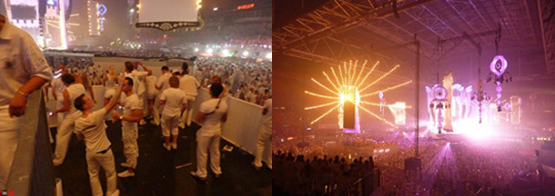 White Sensation 2009 Party