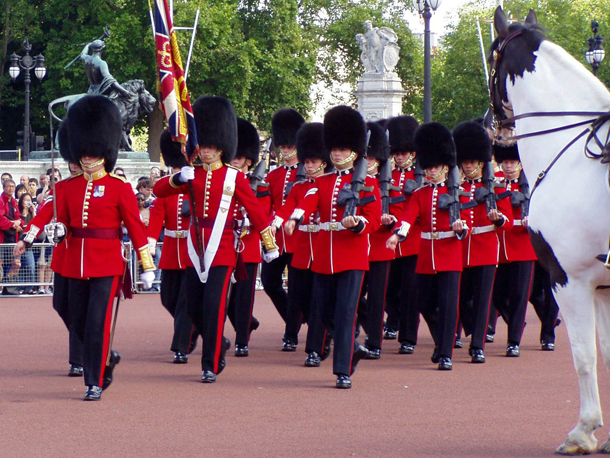 Guard Mounting at Buckingham Palace