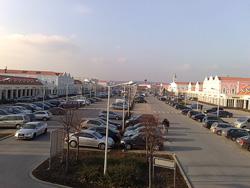 Parndorf Outlet Parking Place