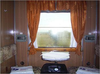 Trans-Siberian Compartment