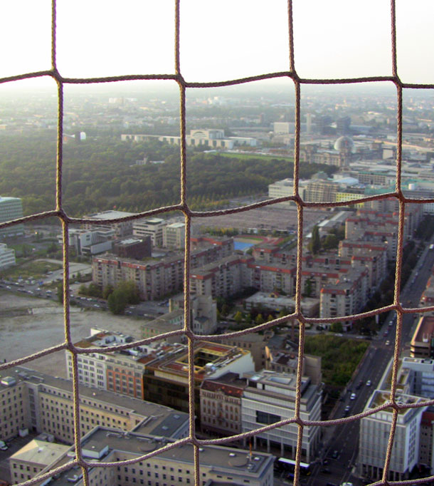 Berlin from Die Welt Balloon