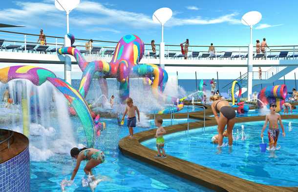Oasis of the Seas Aqua Park