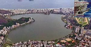 Rio de Janeiro 3D View
