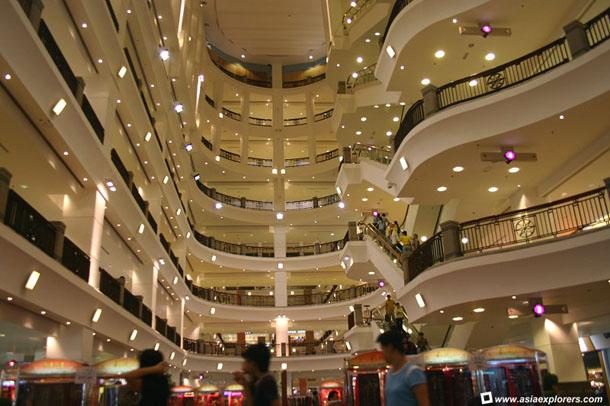 1. Berjaya Times Square Kuala Lumpur Shopping Mall
