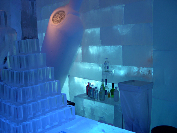 Ice Hotel Bar in Sweden