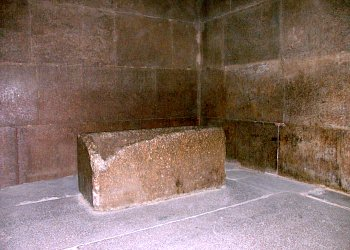 King's Chamber in the heart of the Great Pyramid