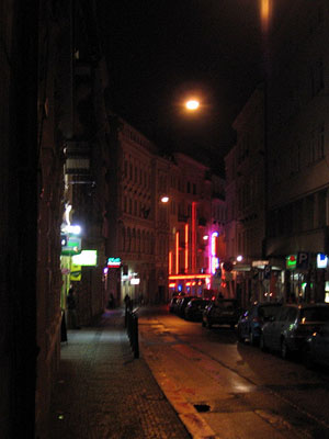 Prague Red Light District, Czech Republic (Perlovka)
