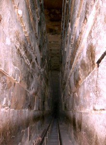 The Grand Gallery in the Pyramid