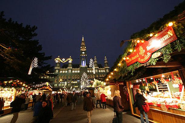 Winter Market in Vienna