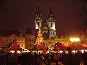 Prague - Vanocni trhy