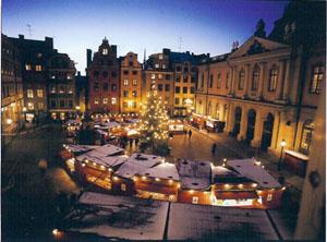 Stockholm - Stortorgets julmarknad