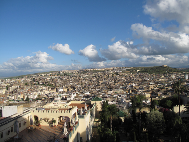 Spending Valentine's Day in Fes Medina