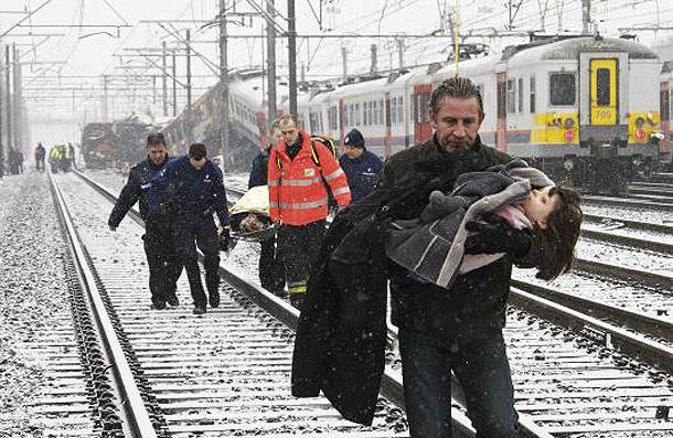 Train Crash in Belgium February 2010