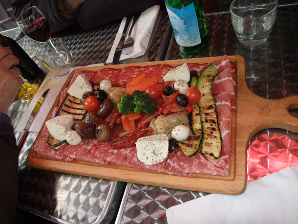 Antipasti, special dishes in Italy