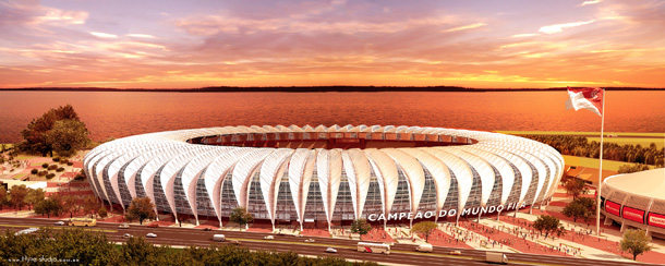 Beira - Brazil is the 2014 host of FIFA Football World Cup