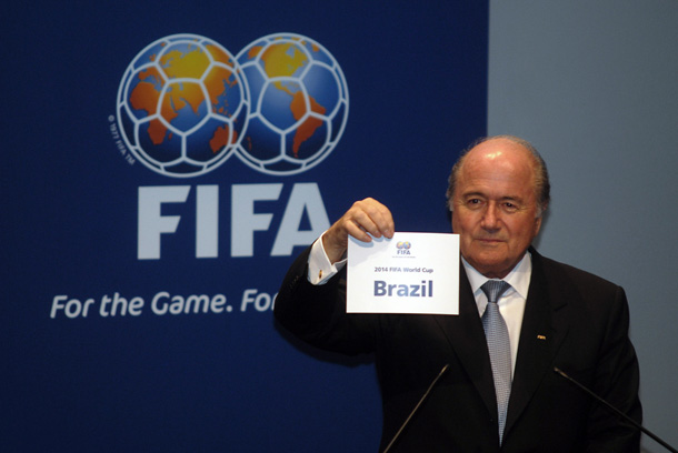 FIFA Governing Body Announces the 2014 World Cup Host