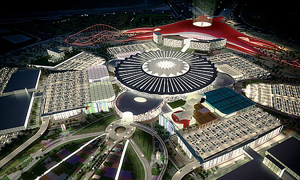 Ferrari World Theme Park Project, Abu Dhabi