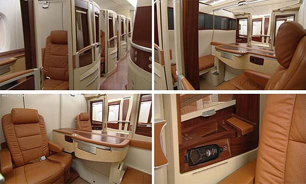 Luxurious Suites in Airbus A380