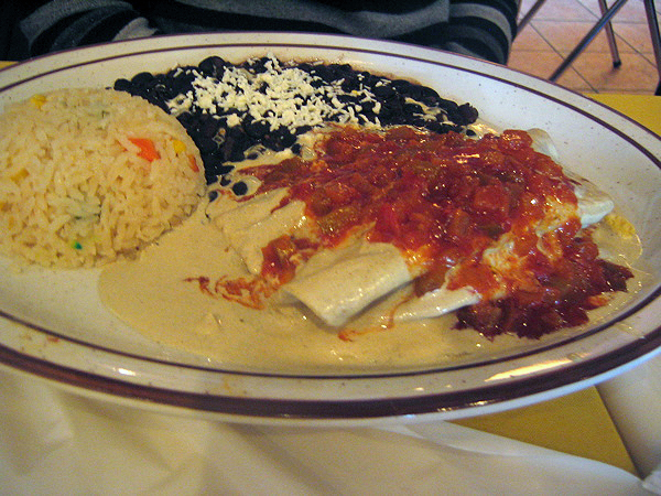 Papazdules, special and local dishes in Mexico