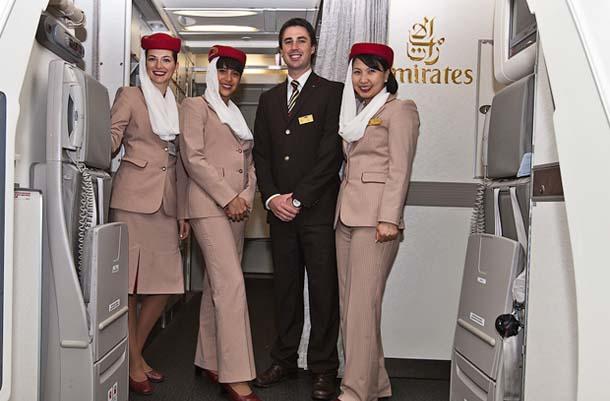Plane Crew - Emirates, Airbus A380