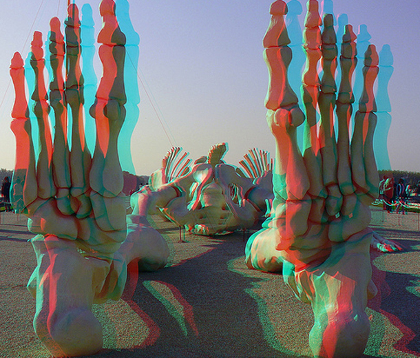 Pop Art at Versailles, 3D Images, Paris, France