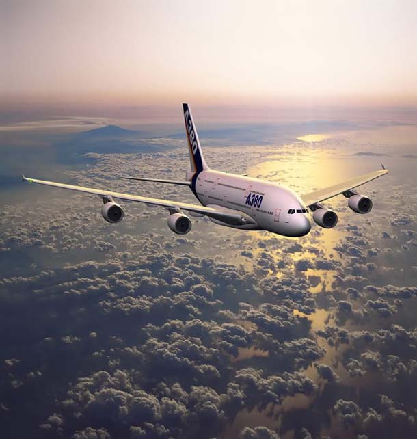 The Largest Airplane in The World - Airbus A380