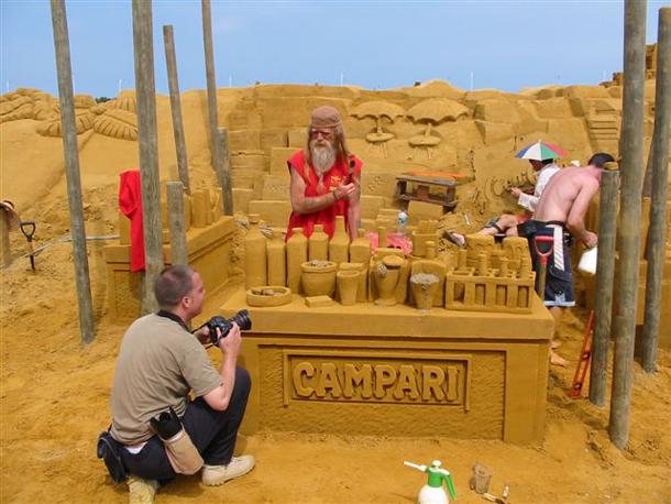 Sand Sculpture, Blackenberge Festival 2010
