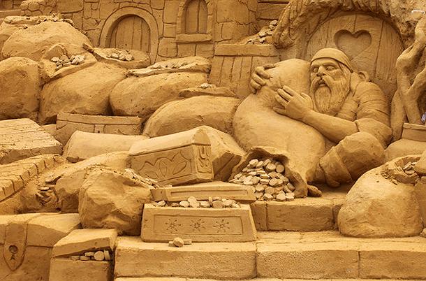 Sandsculpture Festival, Belgium
