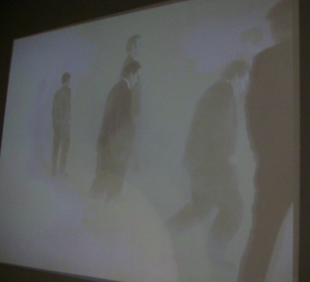 Film with Zombies at CAPC - Museum of Contemporary Art, Bordeaux