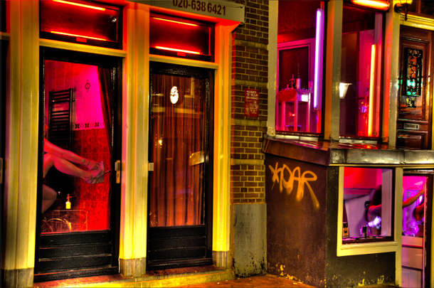 Girls in Red Light District