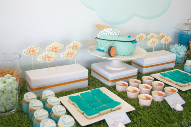 Party Plane Ideas - Food