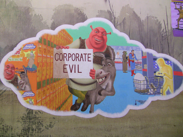 Shrek - Corporate Evil - CAPC - Museum of Contemporary Art, Bordeaux