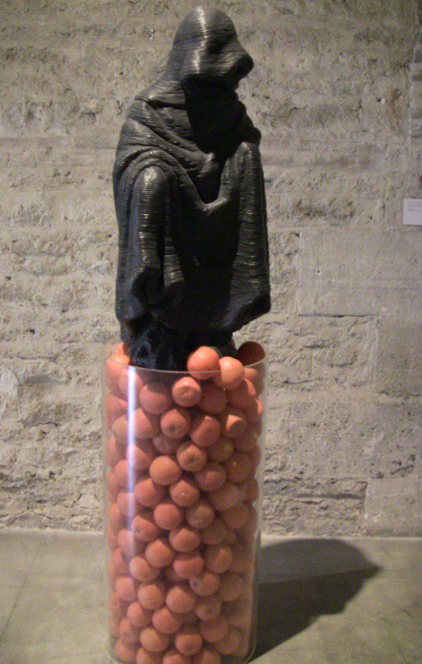 Statue With Oranges - CAPC - Museum of Contemporary Art, Bordeaux Exhibition
